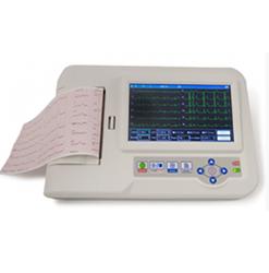 electrocardiografo de 6 canales